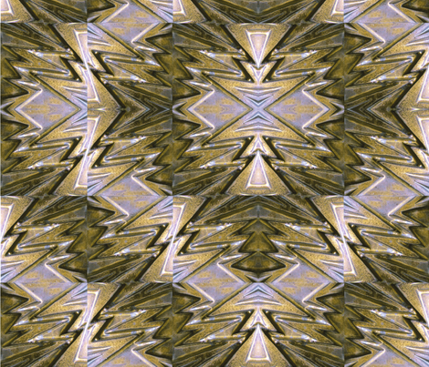 Brass Lightning_13_ fabric by pad_design on Spoonflower - custom fabric