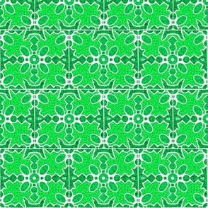 Marble Mosaic Small Tiles in Green