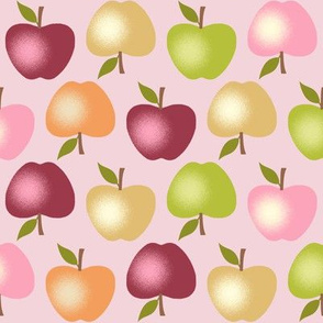 Autumn Apples - Pink