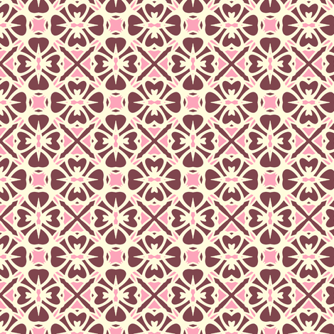 Wild Berry Tart fabric by inscribed_here on Spoonflower - custom fabric