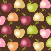 Autumn Apples - Brown
