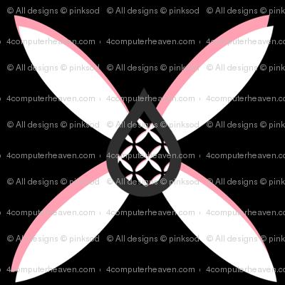 Star Flower Pink Trelldrops - © PinkSodaPop 4ComputerHeaven.com
