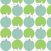 Spoonflower Doves for Gallo White BG
