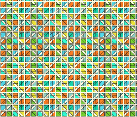 Box Mosaic 2 fabric by zigzagza on Spoonflower - custom fabric