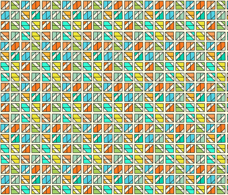 Box Mosaic 3 fabric by zigzagza on Spoonflower - custom fabric