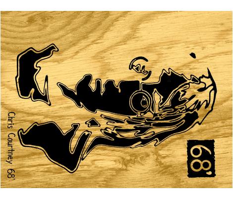 john68' wood block