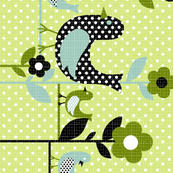 "tweety tweet border 42"" wide"