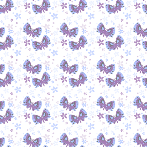 Butterfly Dancers! - © PinkSodaPop 4ComputerHeaven.com fabric by pinksodapop on Spoonflower - custom fabric