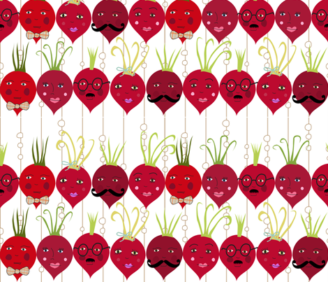 You Look Radishing fabric by meg56003 on Spoonflower - custom fabric