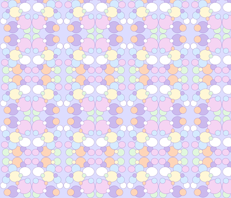Baby Bubbles fabric by sewbiznes on Spoonflower - custom fabric