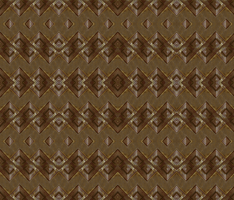Dark Brown Wood Chip_16_ fabric by pad_design on Spoonflower - custom fabric
