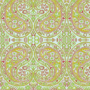 paisley green-honey-red-high