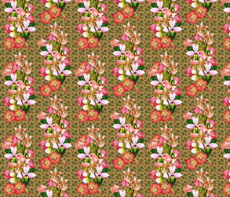 Exotic Bouquet fabric by glimmericks on Spoonflower - custom fabric