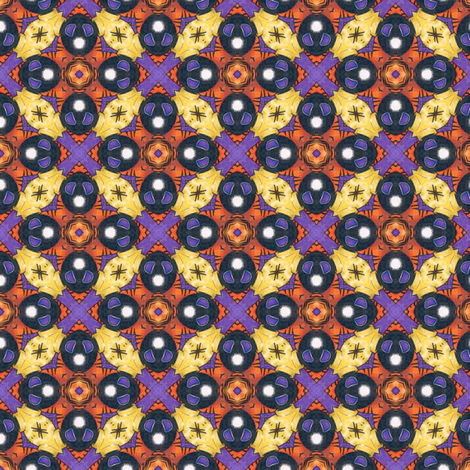 Suna's Tiles fabric by siya on Spoonflower - custom fabric