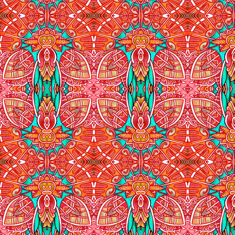 Deco-Rating the Art Deco Way fabric by edsel2084 on Spoonflower - custom fabric
