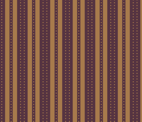 Stripes and Dots - Peanut Butter and Grape Jelly fabric by glimmericks on Spoonflower - custom fabric