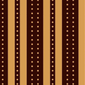 Stripes and Dots - Caramel Cacao