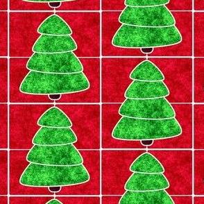 Marble Mosaic Christmas Tree Tiles