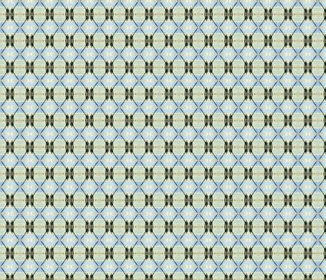 Buttermilk Diamond Check fabric by mbsmith on Spoonflower - custom fabric