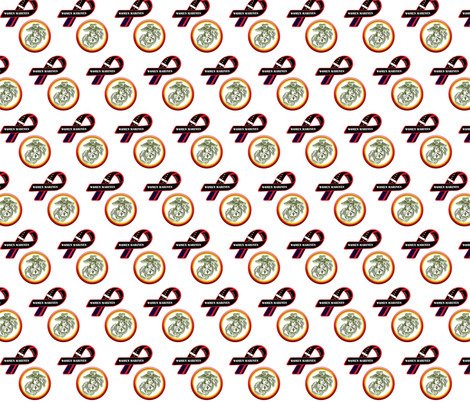 Women Marines fabric by janlascko on Spoonflower - custom fabric