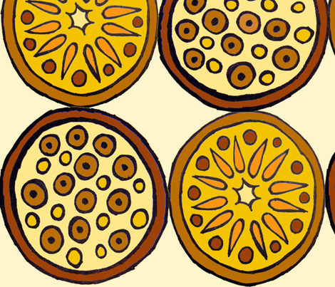 Fruit Play V fabric by merttu on Spoonflower - custom fabric
