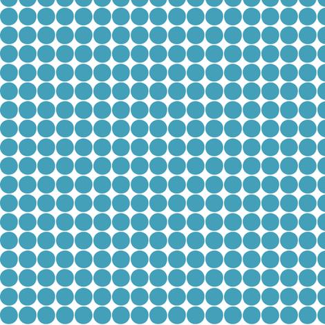 halloween dots blue fabric by misstiina on Spoonflower - custom fabric