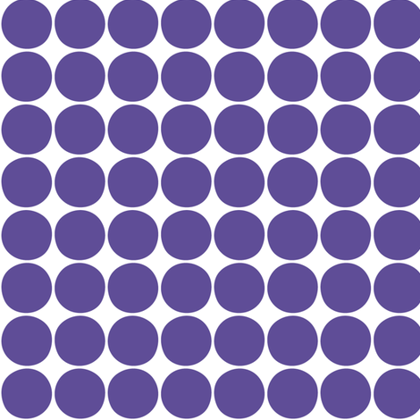 dots purple fabric by misstiina on Spoonflower - custom fabric