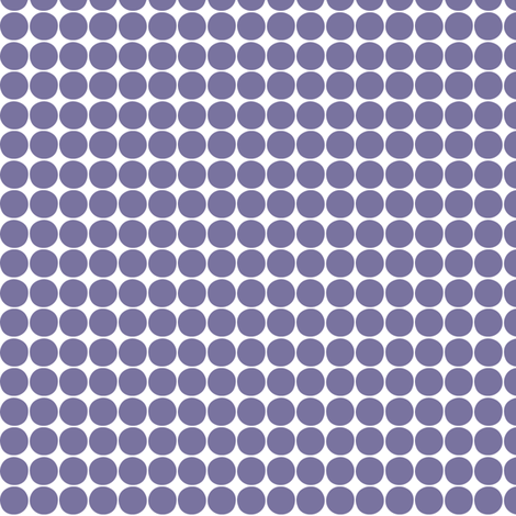 halloween dots purple fabric by misstiina on Spoonflower - custom fabric