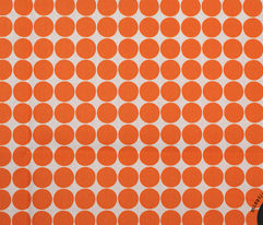 halloween dots orange
