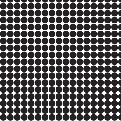 halloween dots almost black fabric by misstiina on Spoonflower - custom fabric