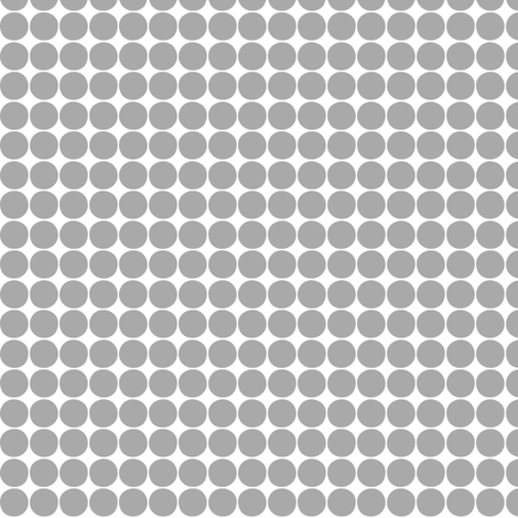 halloween dots grey fabric by misstiina on Spoonflower - custom fabric
