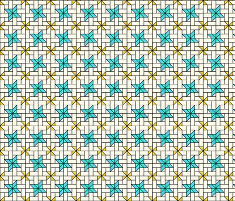Star Mosaic 5 fabric by zigzagza on Spoonflower - custom fabric