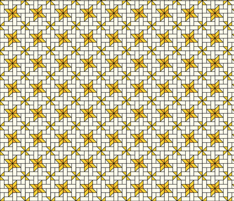 Star Mosaic 6 fabric by zigzagza on Spoonflower - custom fabric