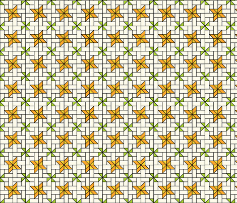 Star Mosaic 1 fabric by zigzagza on Spoonflower - custom fabric