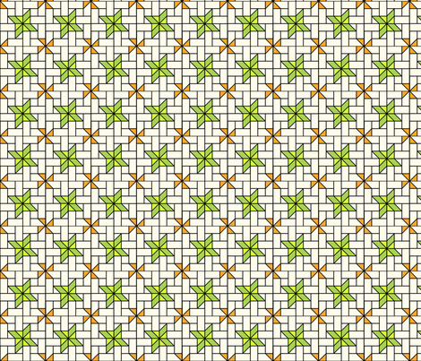 Star Mosaic 2 fabric by zigzagza on Spoonflower - custom fabric