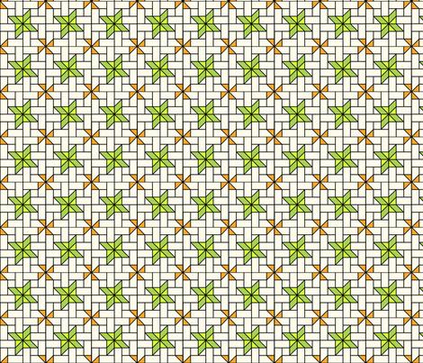 Star Mosaic 2 fabric by zigzagza on Spoonflower - custom fabric