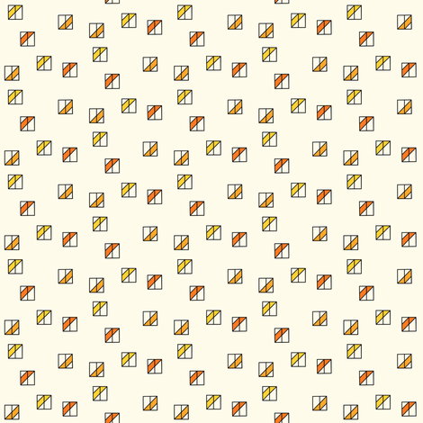 Scattered Box Mosaic fabric by zigzagza on Spoonflower - custom fabric