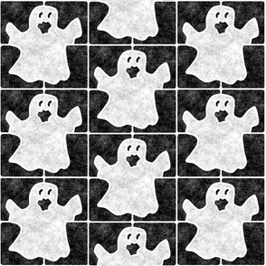 Marble Mosaic Ghost Tiles