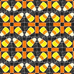 Marble Mosaic Candy Corn Patchwork