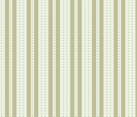 Stripes and Dots - Sandstone fabric by glimmericks on Spoonflower - custom fabric