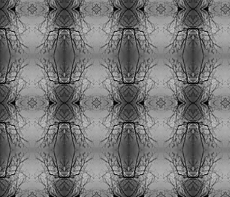 Spider Dream Trees fabric by mbsmith on Spoonflower - custom fabric