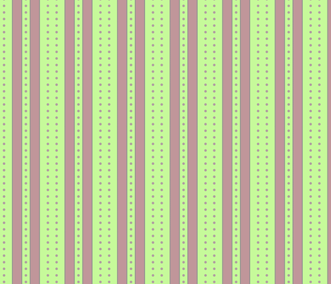 Stripes and Dots - Spring Lilac fabric by glimmericks on Spoonflower - custom fabric