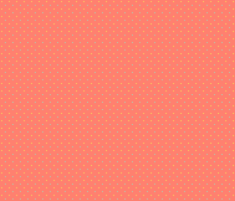 Swiss Sluggish - Peach fabric by glimmericks on Spoonflower - custom fabric