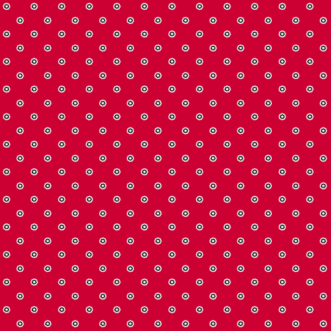Swiss Mrs. Claus fabric by glimmericks on Spoonflower - custom fabric
