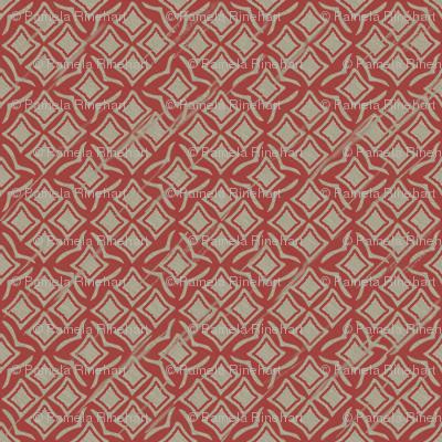 tiles woodrose