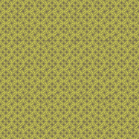 tiles goldenrod fabric by glimmericks on Spoonflower - custom fabric