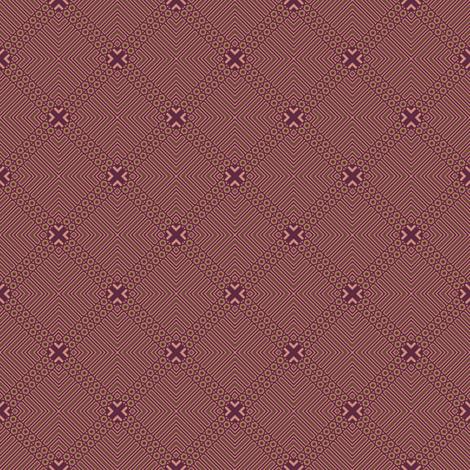 Wine Diamonds © Gingezel™ Inc. 2011 fabric by gingezel on Spoonflower - custom fabric
