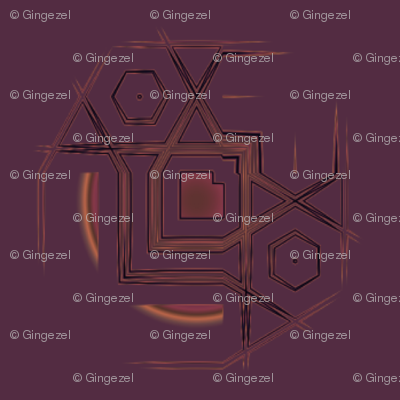 Wine Abstract Circles © Gingezel™ 2011