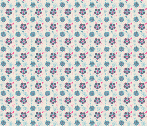 Spot of Pink! fabric by eppiepeppercorn on Spoonflower - custom fabric
