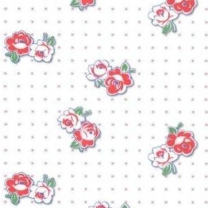 Feedsack Roses